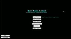 build notes 1