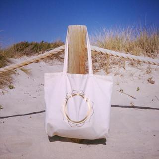 I AM LOVE XXL Yoga Tote Bag - front