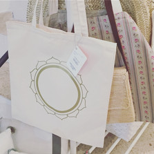 Circle of Gold Tote Bag @ RA MA, Mallorca
