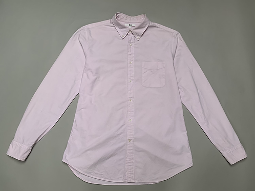 Uniqlo Pink Slim Fit Men's Shirt Size L