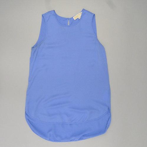 Michael Michael Kors Silk Sleeveless Blue Blouse S
