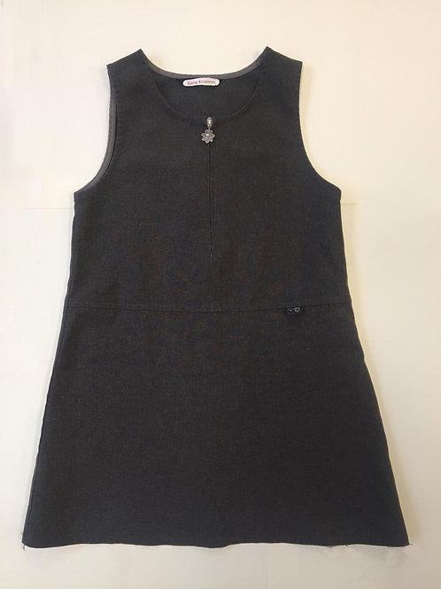 Girls grey dress 5-6 years
