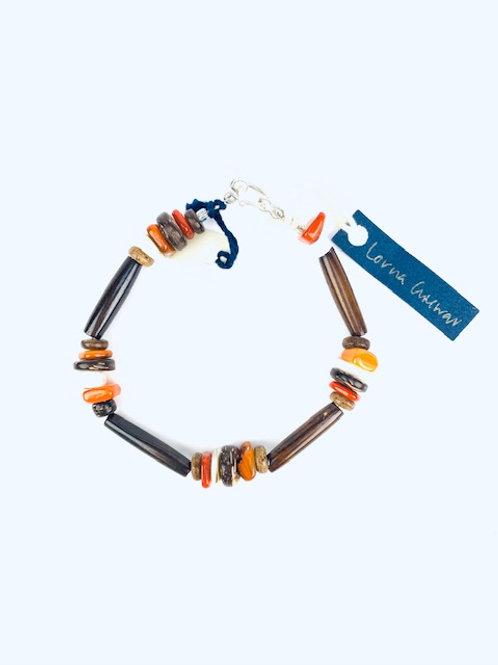 Bone + Coco Shell Lorna Grewar Bracelet