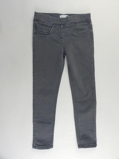Vertbaudet Black Denim Jeans Leggings UK 5 Yrs (116 cm)