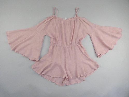 Shein Pink Girls Playsuit Jumpsuit 11-12Y (152 cm)