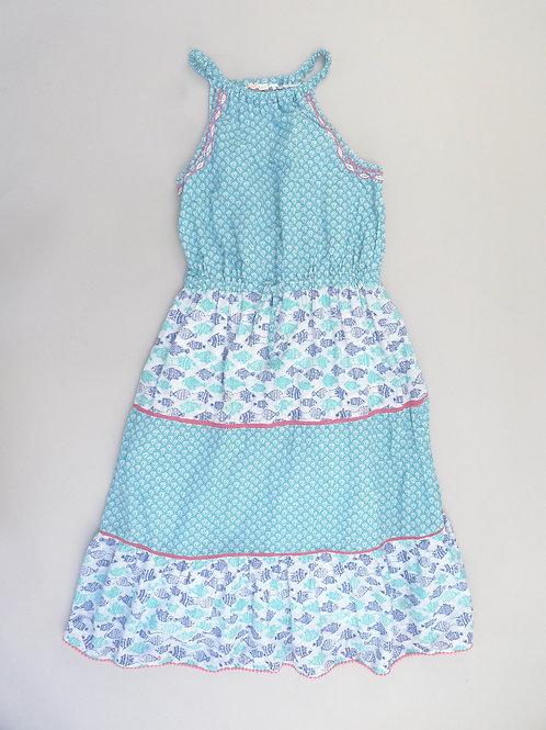 FatFace Girls Fish Print Dress  10-11 Yrs