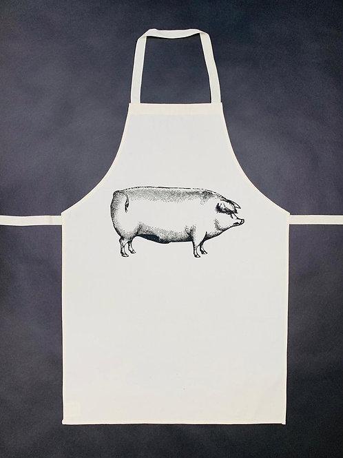 Pig Apron - Cotton Linen