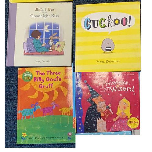 Set of 4 children's books