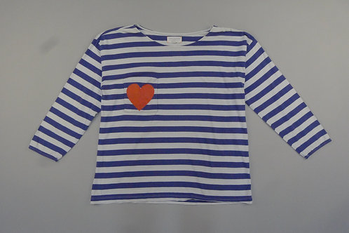 Chinti and Parker Heart Tee M