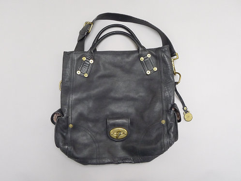 Mulberry Black Leather Hobo Bag