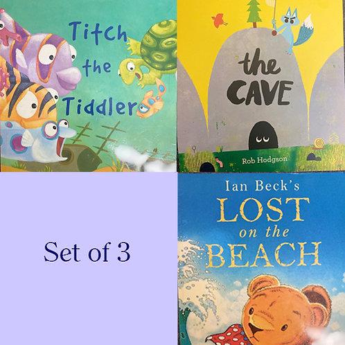 Set of 3 children's books