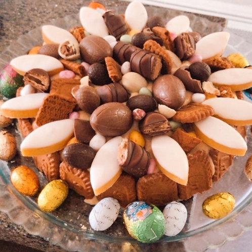 Tara Oriane Monjo's Speculoos Easter cake (Year 4)