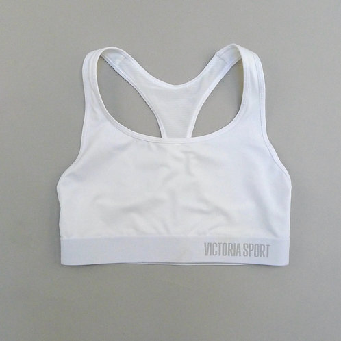 Victoria's Secret White Sport Top Size S Small
