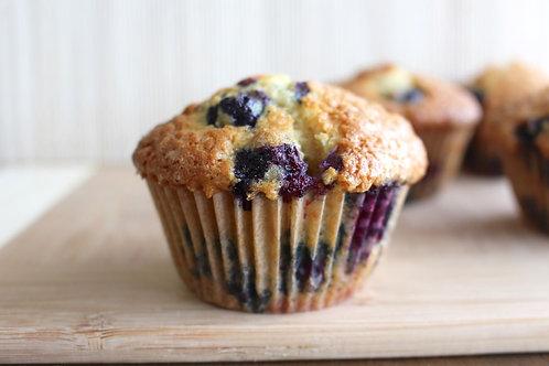 Almaz's healthy blueberry muffins (6) (Year 4)