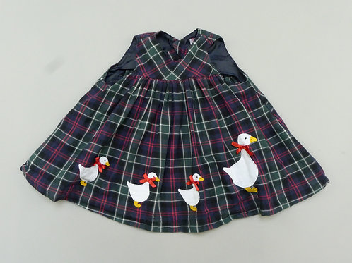 Confiture Check Baby Dress 3-6 Months