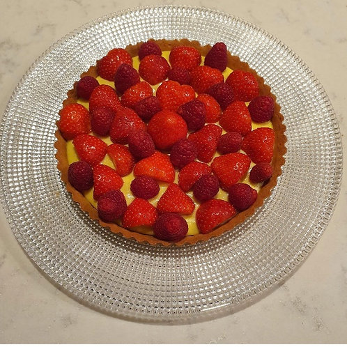 Anna Horder's Lemon Tart with Fruit (Yr 2 and reception)