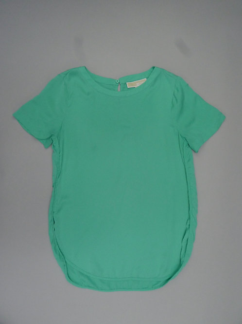 Michael Michael Kors Silk Green Blouse S