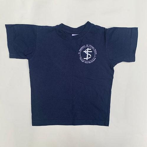Dark Blue P.E t-shirt