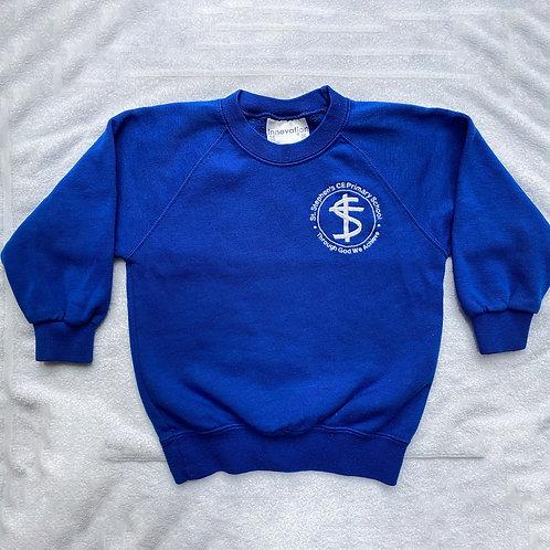 P.E Sweatshirt in blue