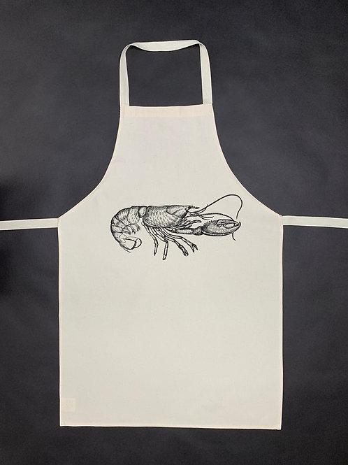 Lobster Apron - Cotton Linen