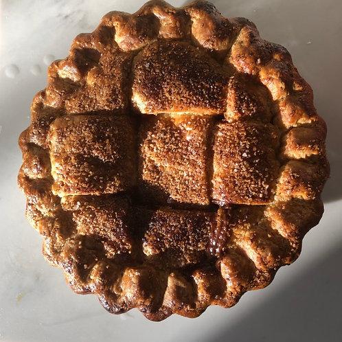 Iona's Rhubarb and cardamom pie (Year 2)