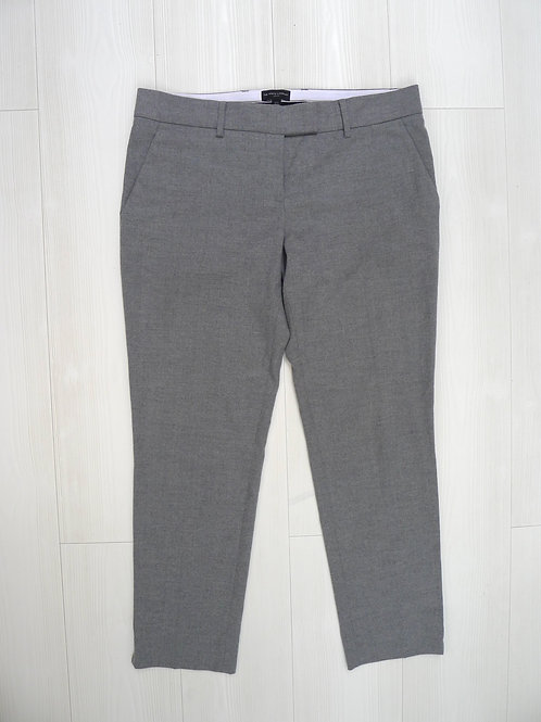 The White Company Grey Wool Trousers UK 14