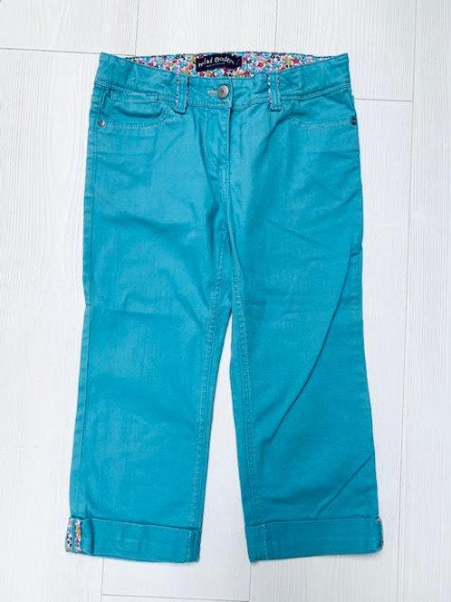 Mini Boden Blue/Green Denim Trousers Size 11 Years