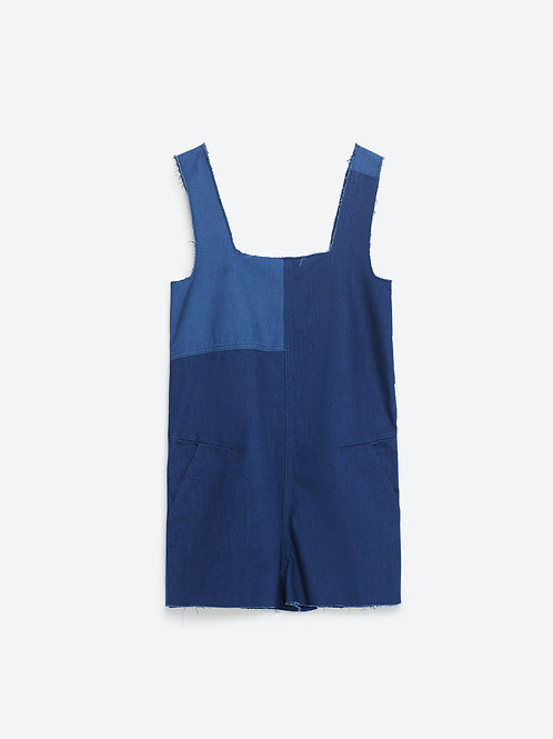 Zara Denim Playsuit  XS