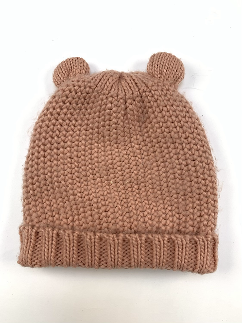 Zara Girls Pink Knitted Hat