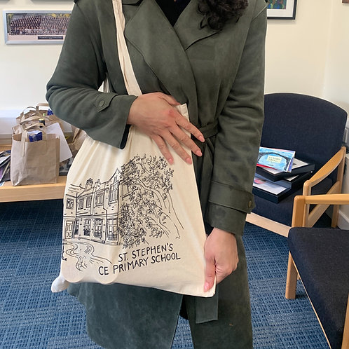 St Stephen's tote bag