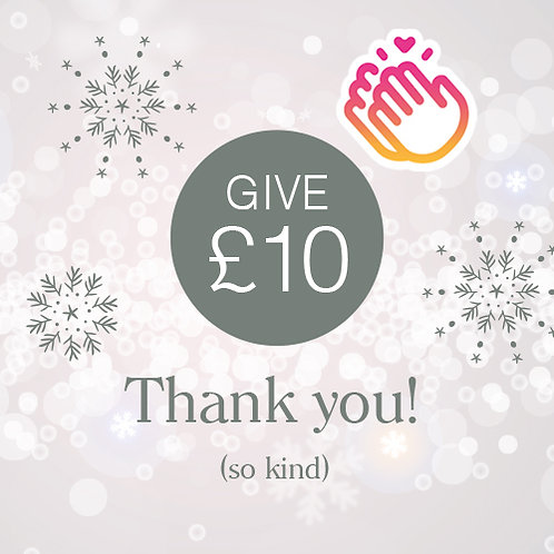 Give £10 to the school