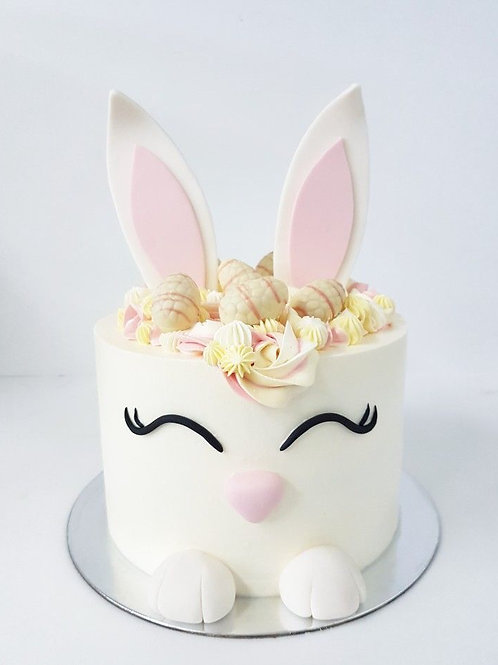 Grace's chocolate Easter bunny cake  (Year 6)*