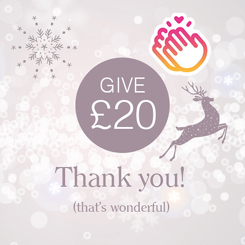 Give £20 to the school