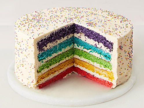 Kit's rainbow cake (Year 5)