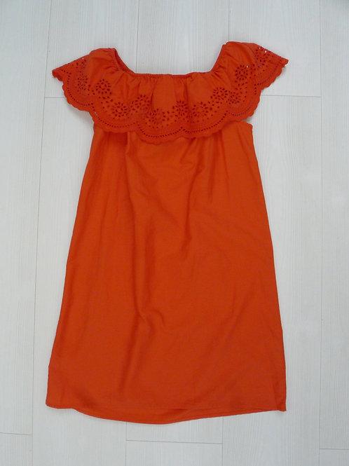 H&M Girls Red Summer Dress  10-11Y (146 cm)