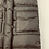Thumbnail: Bonpoint Dark Brown Down Puffer Jacket Size 6