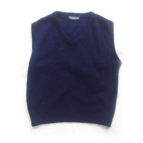 Dark Blue Sleeveless jumper