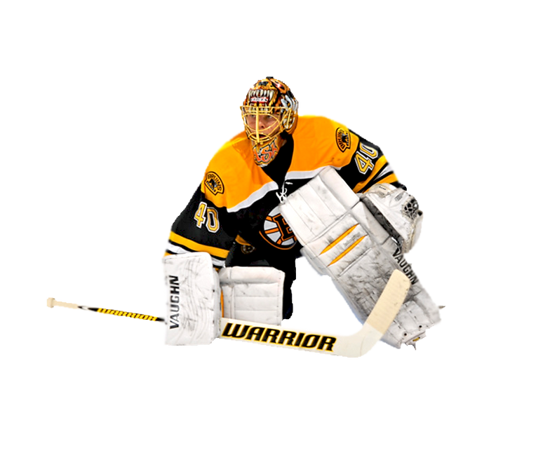 BOSTON, MA - MARCH 11: Tuukka Rask #40 of the Boston Bruins stands