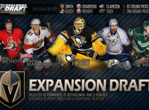 GOLDEN KNIGHTS PICK THEIR TEAM!