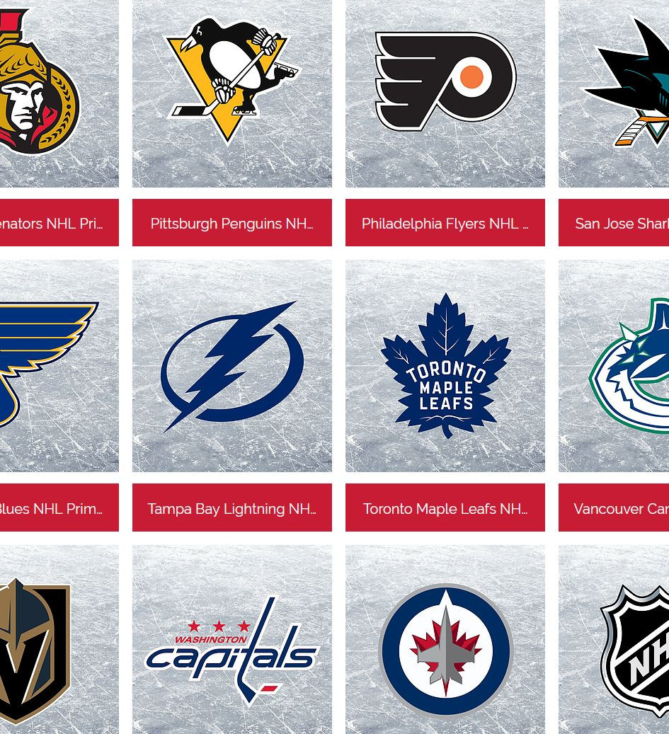 Every Single NHL Team's Logos For 2018-19