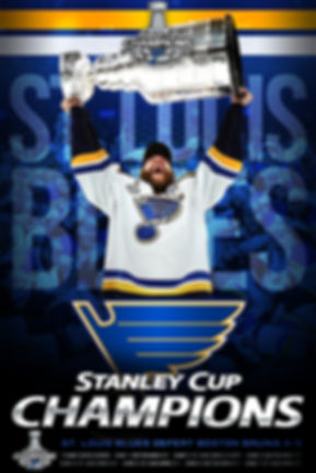 2019 Stanley Cup Champions St. Louis Blues Poster/Wallpaper