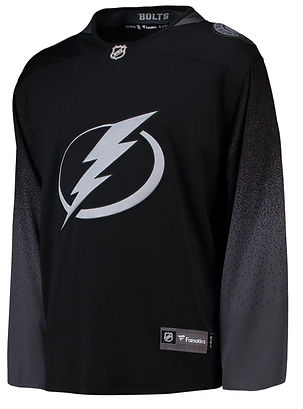The Tampa Bay Lightning all black third jersey was leaked online. We are  still waiting for the official reveal. b8d9afa52