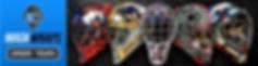 Custom Designed Goalie Mask Vinyl Wraps By Mask Wraps in Mississauga, ON Canada
