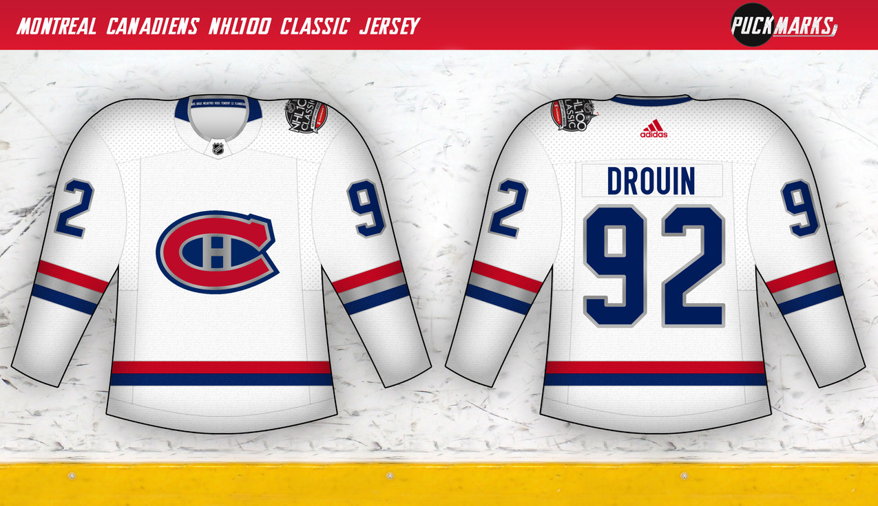 Canadiens NHL100 Classic Jersey