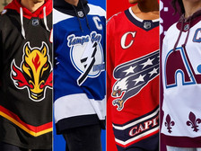 NEW! Ranking All 31 NHL Reverse-Retro Jerseys