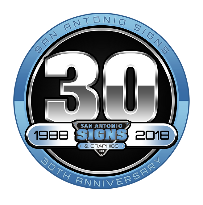 S.A. Signs 30th Anniversary Logo.png