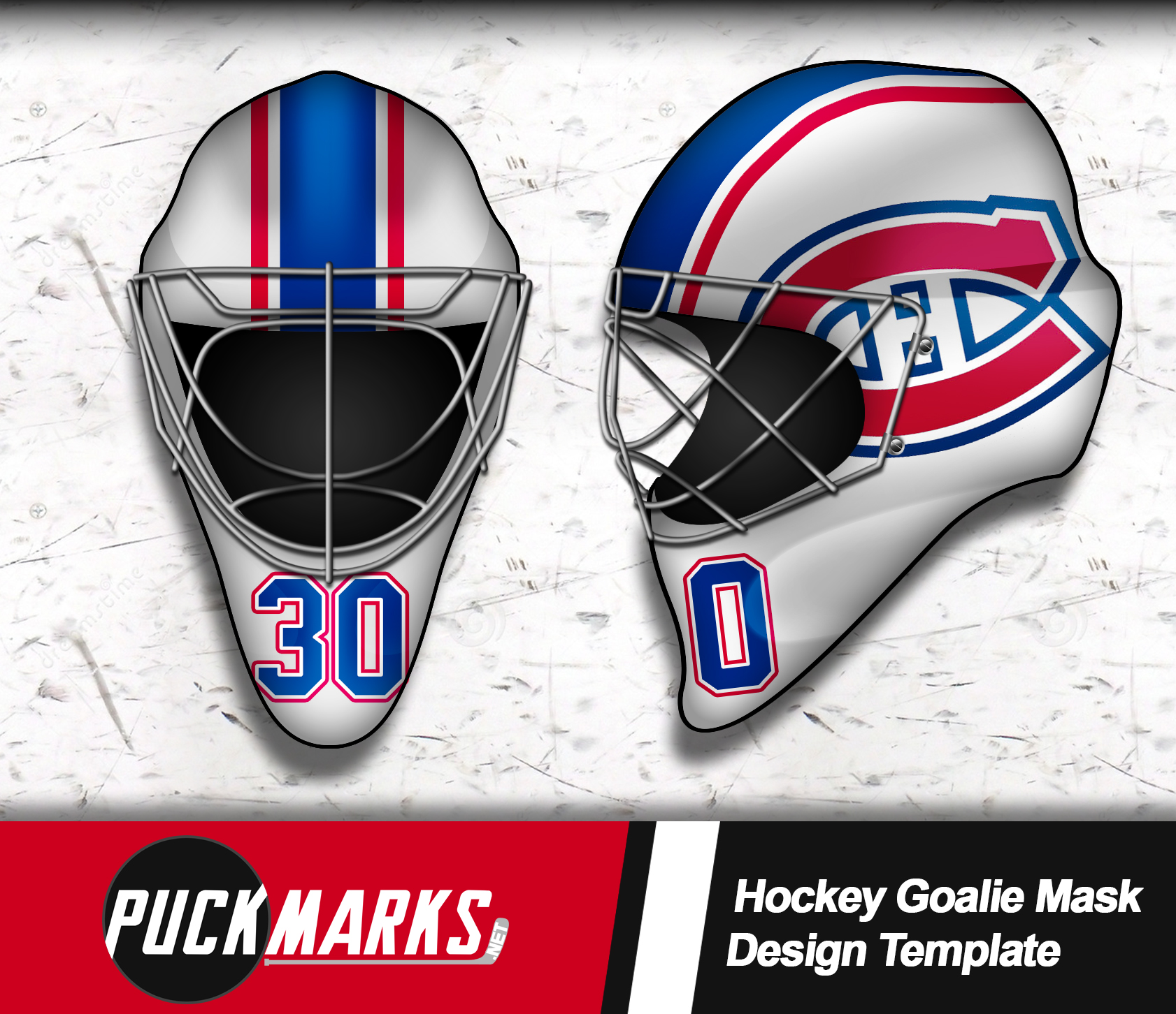 Canadiens Goalie Mask Design