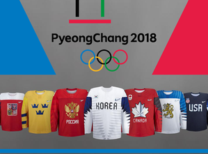 All 13 Men's Hockey Jerseys Unveiled For 2018 Olympics
