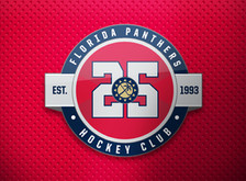 Florida Panthers Unveil New Anniversary Logo for 2018-19