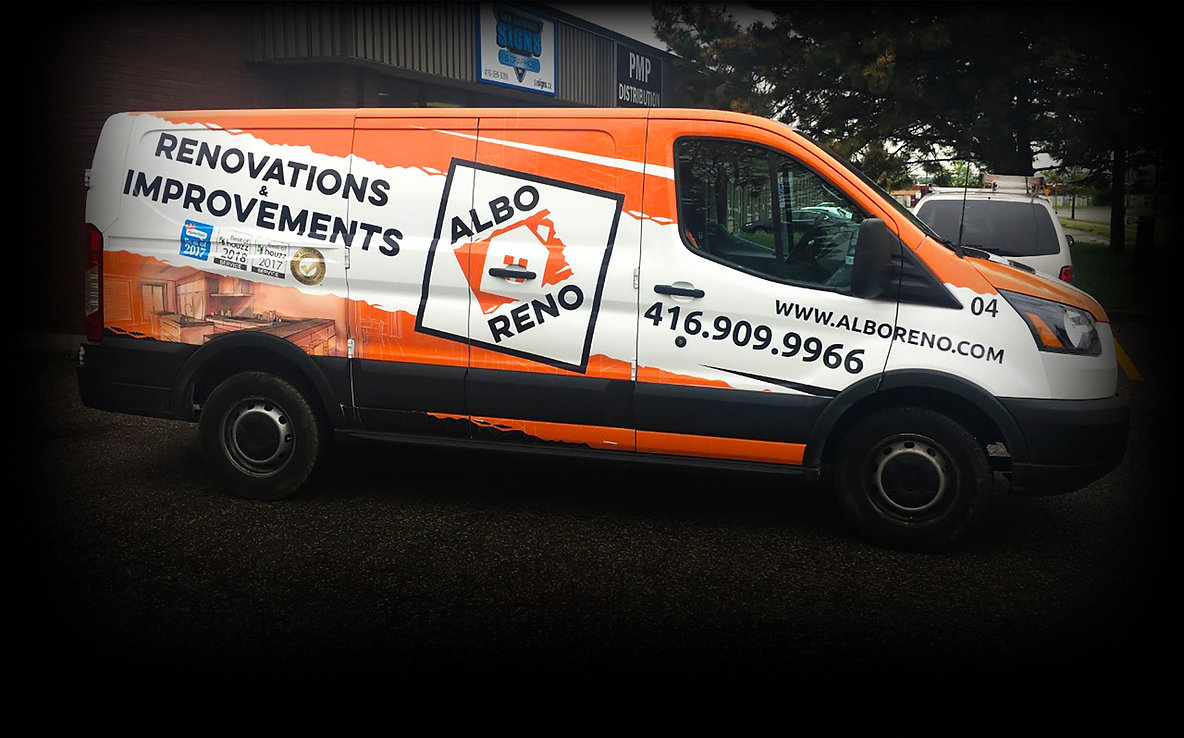 Vehicle Wrap Custom Design & Install By S.A. Signs in Mississauga